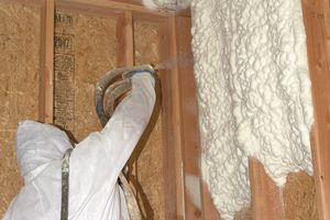spray foam wall insulation